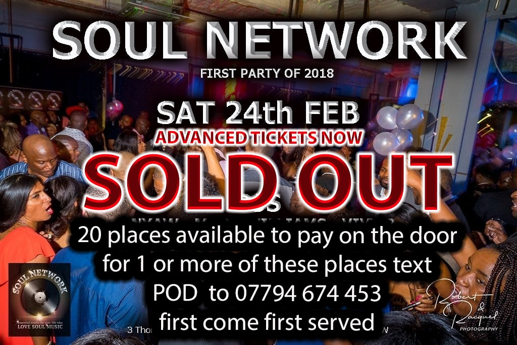 24th feb SOLD OUT
