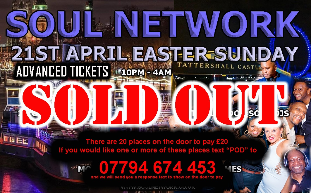 tattershall easter sunday sold out