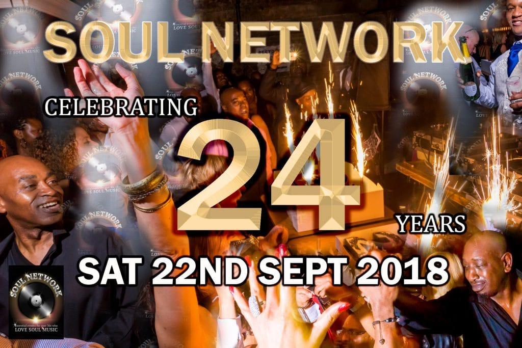 soul network 24th birthday Flyer