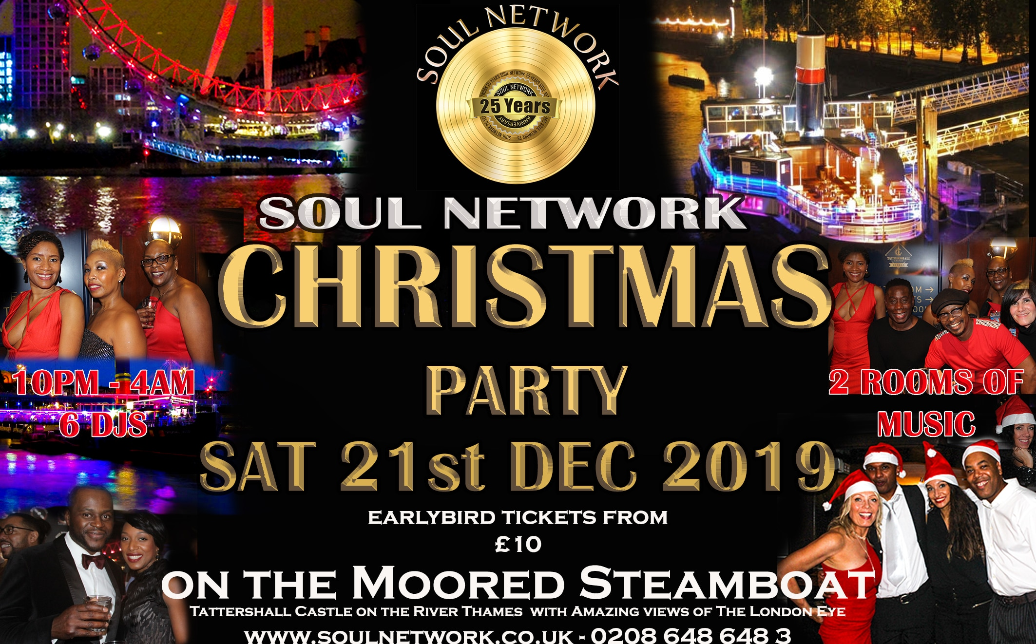 Christmas Party Flyer Tattershall