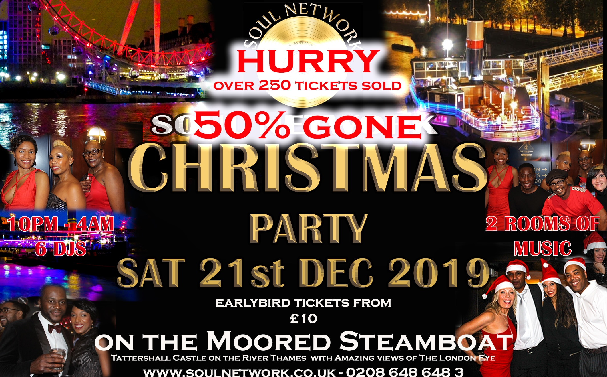 Christmas Party Flyer Tattershall 50% gone