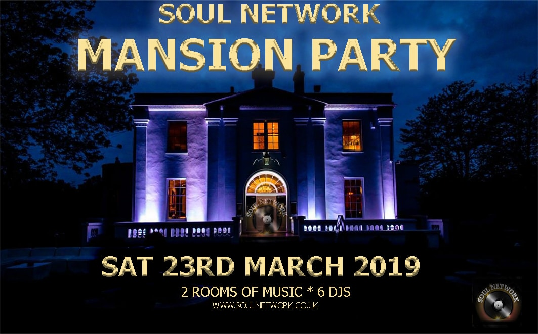 Mansion Party Belair Sat 23rd March