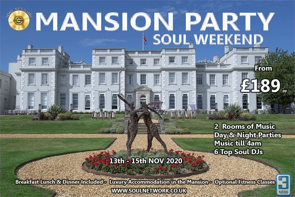 MANSION pARTY WEEKEND FLYER