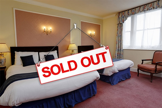 SOLD OUT TRIPLE ROOM ROYAL VICTORIA SOUL NETWORK HASTINGS WEEKEND