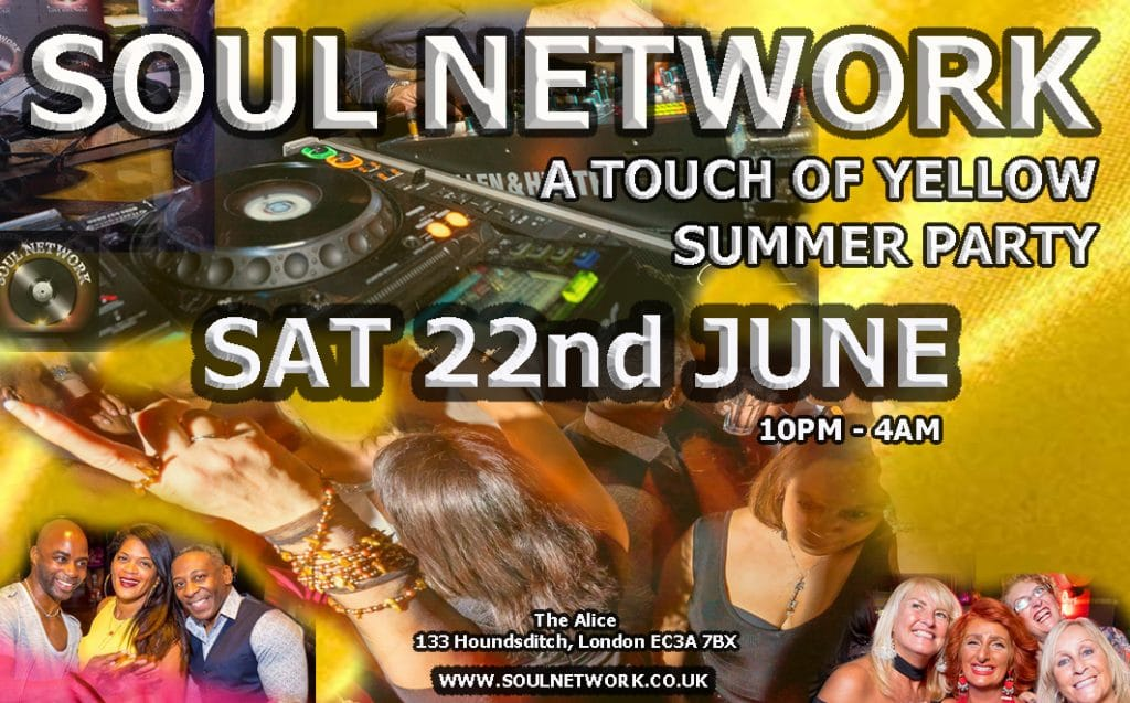 Summer Party 22nd June Where something yellow