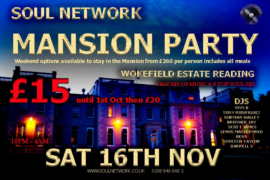 1 flyer mansion party flyer saturday night 16th November
