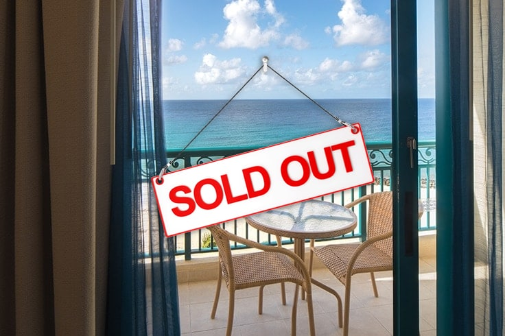 sold out deluxe ocean view