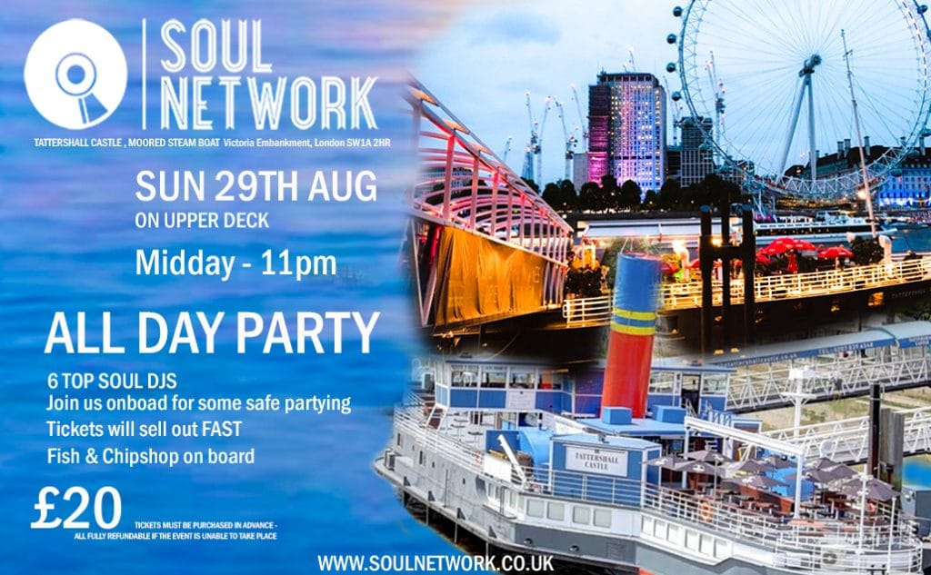 sOUL nETWORK tATTERSHALL cASTLE vICTIORIA EMBANKMENT