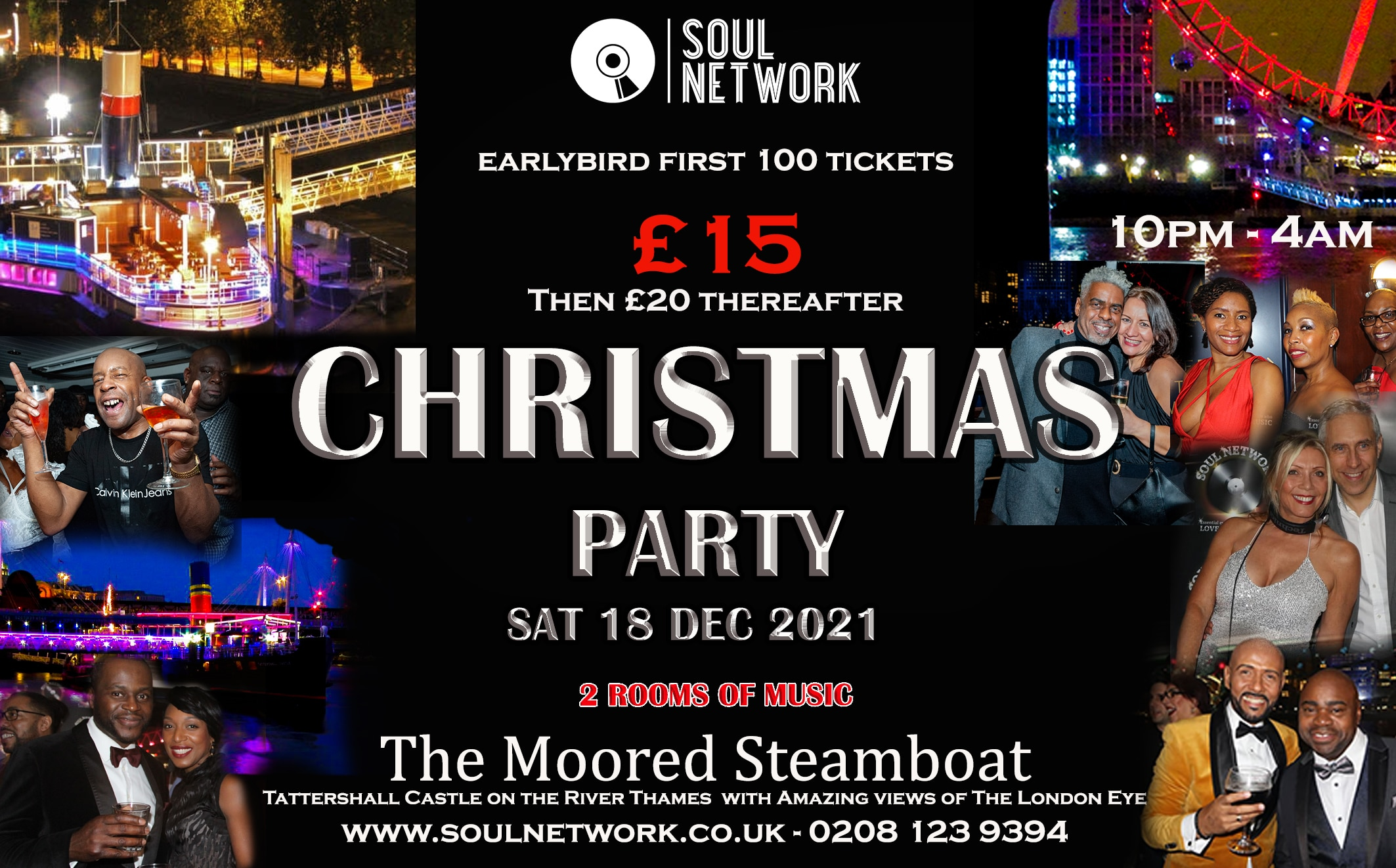 Christmas Party Flyer Tattershall copy